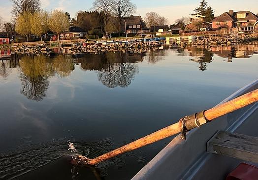Fischerwiege am Passader See